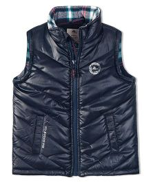 Cherry Crumble California Premiuim Lightweight Puffer Vest For Boys & Girls - Blue