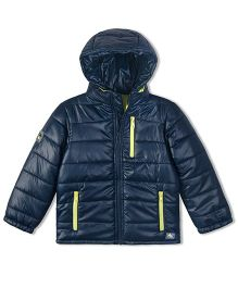 Cherry Crumble California Lightweight Puffer Jacket For Boys & Girls - Blue
