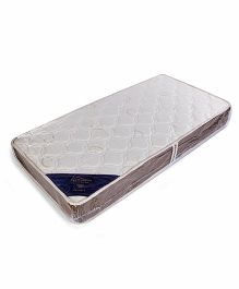 Spring Air Posture X Foam Mattress Round Print - Off White
