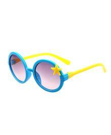 Princess Cart Round Sunglasses - Blue