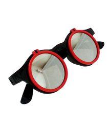 Princess Cart Flip Round Sunglasses - Red
