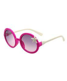 Princess Cart Round Sunglasses - Pink