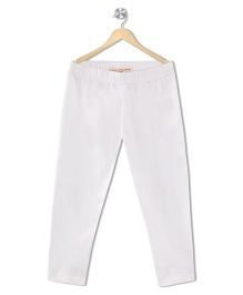 Raine & Jaine Girls Leggings - White