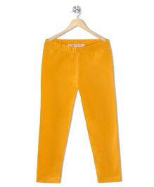 Raine & Jaine Girls Leggings - Yellow