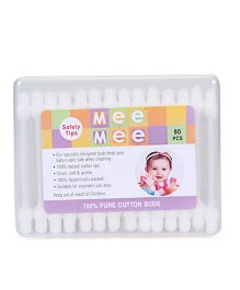 Mee Mee Cotton Ear Buds - 80 Pieces