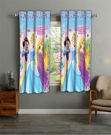 Disney Athom Trendz Window Curtain Princess Print - Multi Color PRI-405-WC1