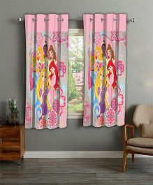 Disney Athom Trendz Window Curtain Princess Print - Multi Color PRI-406-WC1