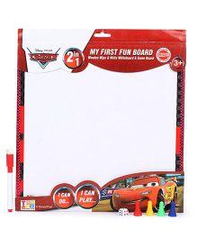 Disney Pixar Cars 2 in 1 Writing Cum Game Board - White