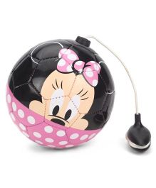 Disney Minnie Mouse Training Ball - Pink Black