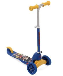 Disney Mickey Mouse And Friends Multifunction Scooter - Blue Yellow