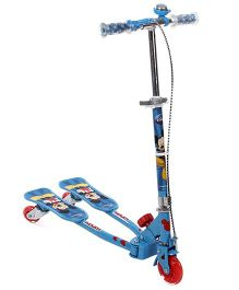 Disney Mickey Mouse And Friends Swing Scooter - Blue