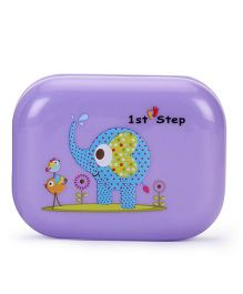 1st Step Soap Box Elephant Print - Purple