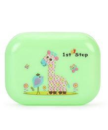 1st Step Soap Box Giraffe Print - Green