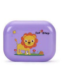 1st Step Soap Box Lion Print - Purple
