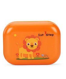 1st Step Soap Box Lion Print - Orange