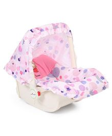 1st Step Baby Carry Cot Cum Rocker - Pink