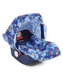 1st Step Baby Carry Cot Cum Rocker - Blue