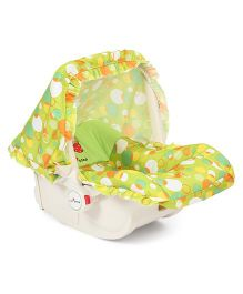 1st Step Baby Carry Cot Cum Rocker - Green