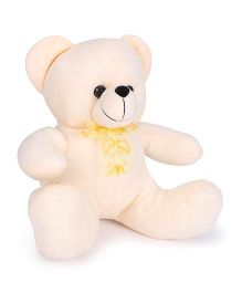 Funzoo Bizzy Bear Soft Toy Light Cream - Height 20 cm