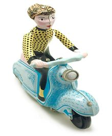 TinTreasures Scooter Toy - Blue
