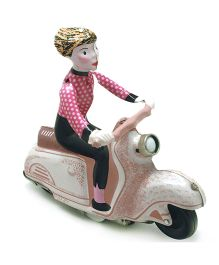 TinTreasures Scooter Toy - Ivory