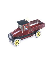 TinTreasures Toy Pick Up Truck - Maroon