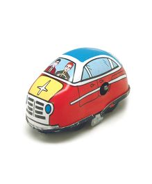 TinTreasures Highway Wind Up Toy Car - Red