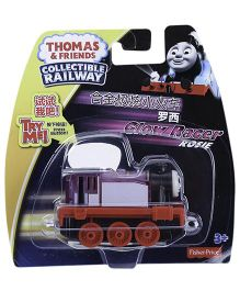 Thomas And Friends Glow Racer Rosie Engine Toy - Red Purple