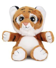Keel Sparkle Eye Tiger Soft toy Brown White - 20 cm