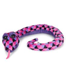 Keel Sparkle Eye Snake Soft toy Purple - 100 cm