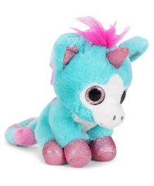 Keel Sparkle Eye Unicorn Soft toy - Aqua