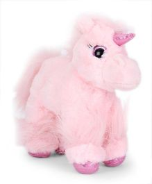Keel Glitter Gems Unicorn Soft Toy Peach - 18 cm