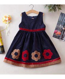 Cherubbaby Corduroy Dress - Blue