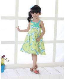 Cherubbaby Lime Dress - Green