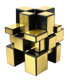 Happy Kids Puzzle Cube - Golden