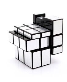 Happy Kids Puzzle Cube - Silver