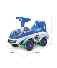 Happykids Foot To Floor Ride On Car - Blue