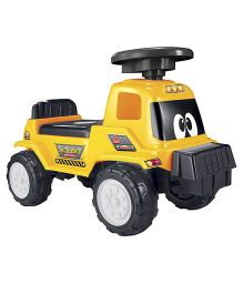 Happykids Foot To Floor Ride On Car Vehicle - Yellow