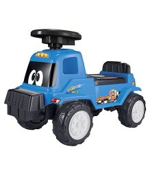 Happykids Foot To Floor Ride On Car Vehicle - Blue