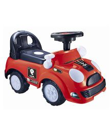 Happykids Foot To Floor Ride On Vehicle - Red
