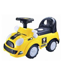 Happykids Foot To Floor Ride On Vehicle - Yellow