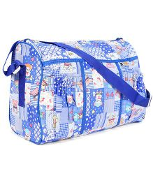 Mee Mee Nursery Bag Teddy Print - Blue