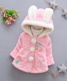 Tickles 4 U Full Sleeves Bunny Jacket - Pink