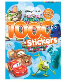 Disney Pixar 1000 Stickers - English