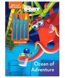 Disney Pixar Finding Dory Ocean Of Adventure - English