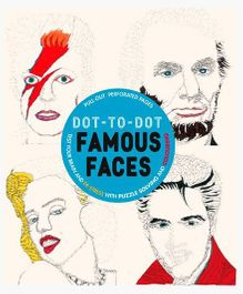 Dot-to-Dot Famous Faces - English