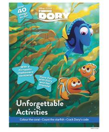 Disney Pixar Finding Dory Unforgettable Activities With Cover Mount - English