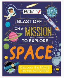 Factivity Blast Off On A Mission To Explore Space - English