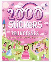2000 Stickers Princesses - English
