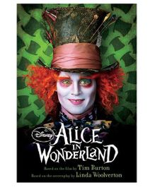 Disney Alice In The Wonderland Live Action Story Book - English
